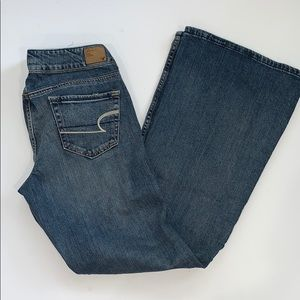 New! American Eagle Hipster Jeans Size 8